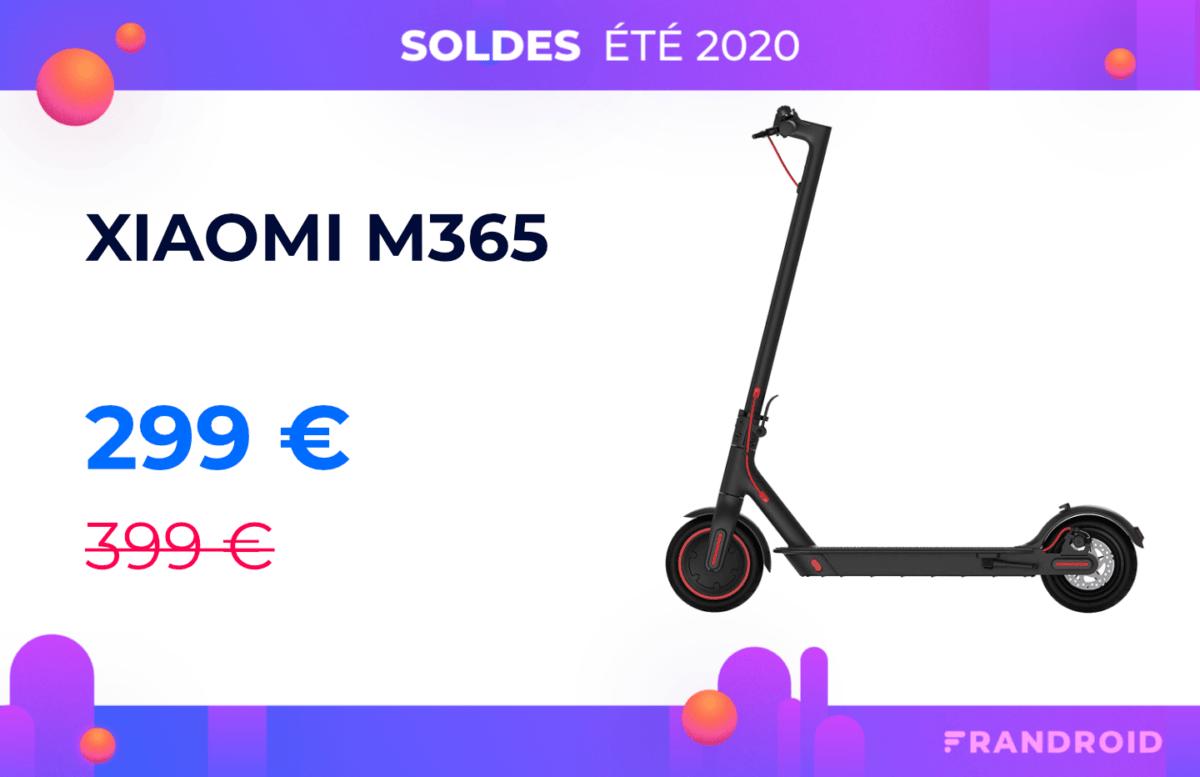 Xiaomi M365 : belle baisse de prix pour la plus populaire des trottinettes électriques
