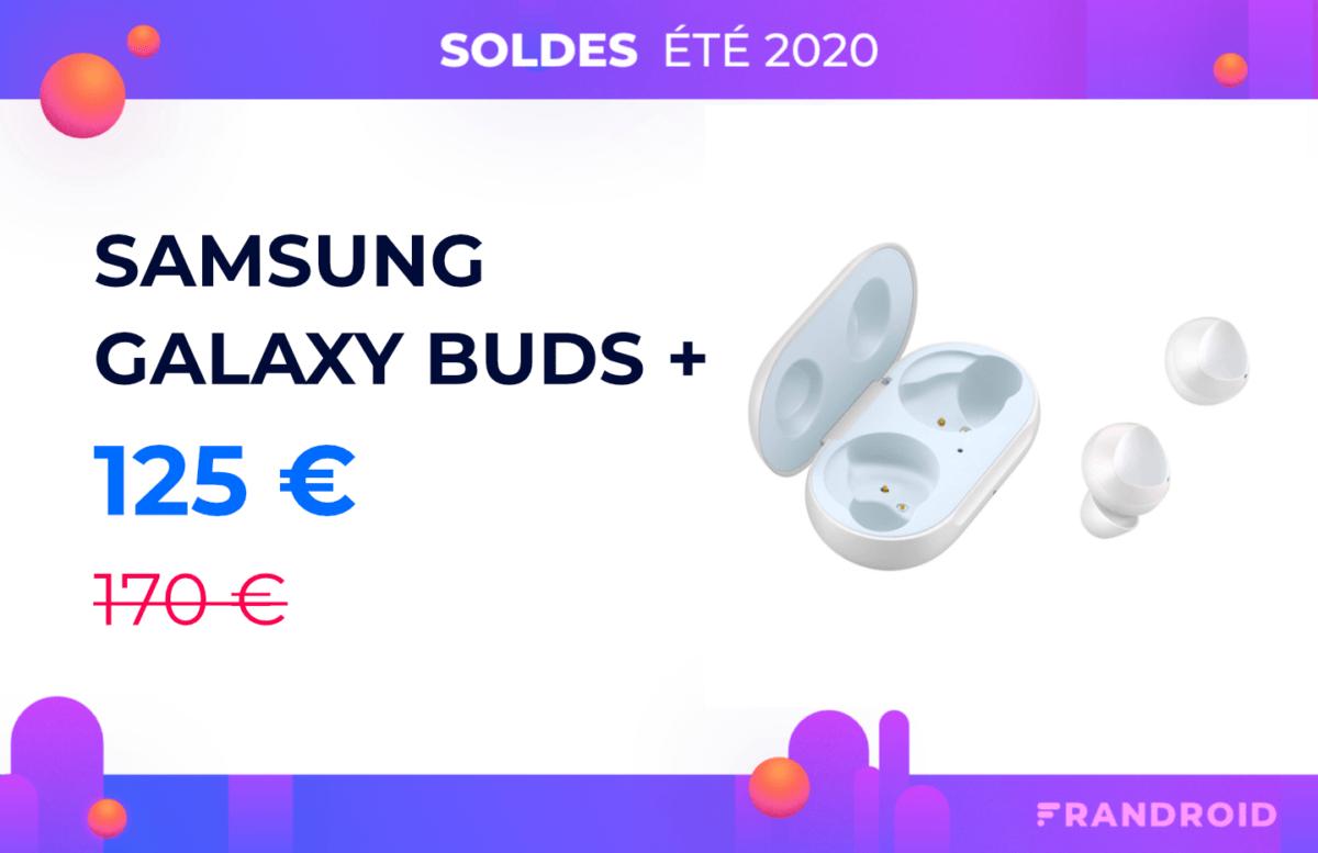 Presque 50 € de réduction pour les écouteurs Samsung Galaxy Buds Plus