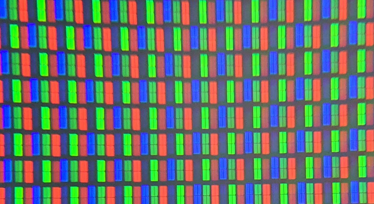 La structure de la dalle LCD VA