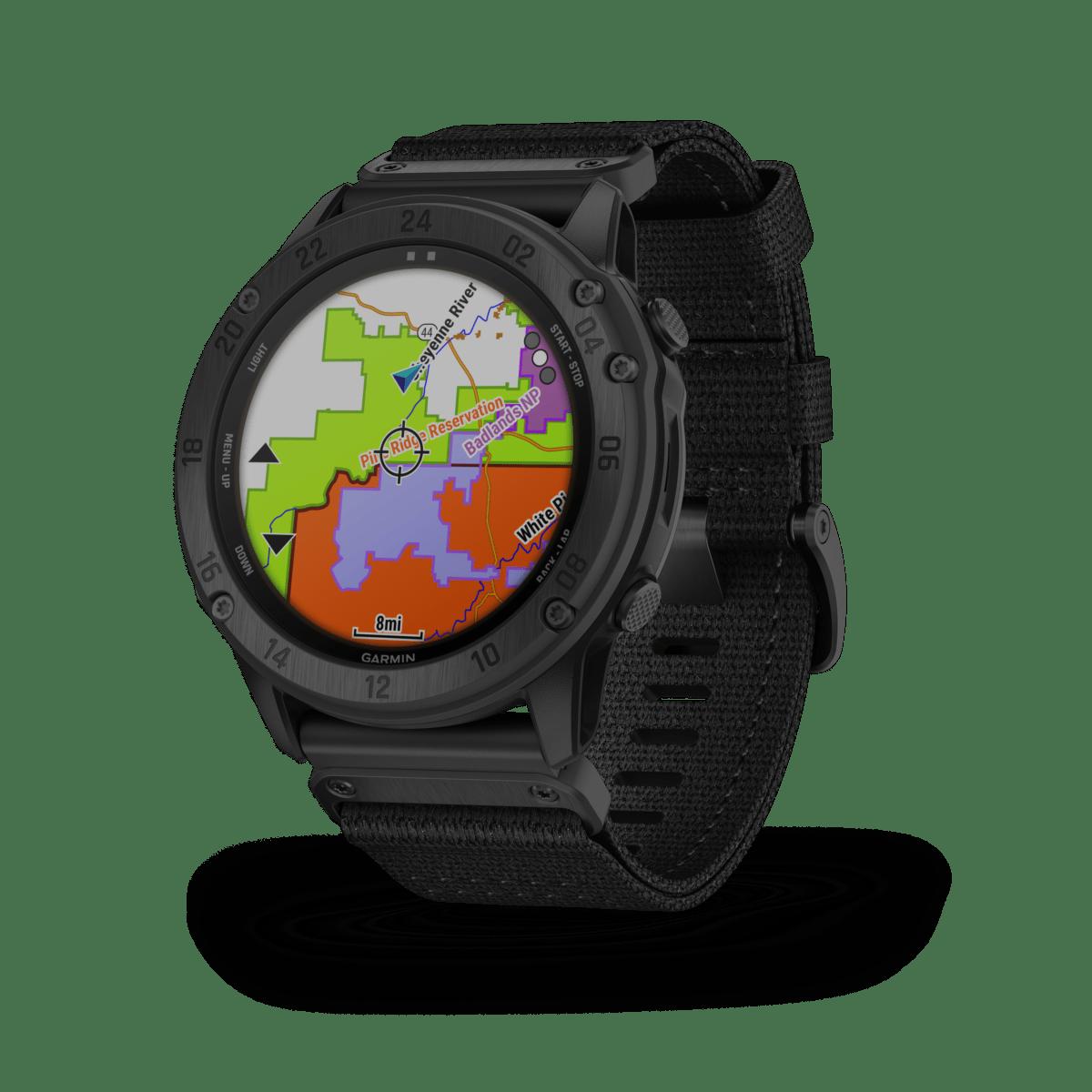 La montre Garmin tactix Delta Solar