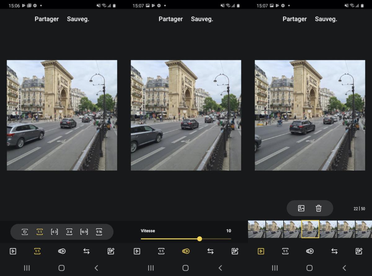 Personnalisez votre GIF grâce aux nombreux outils de modification.