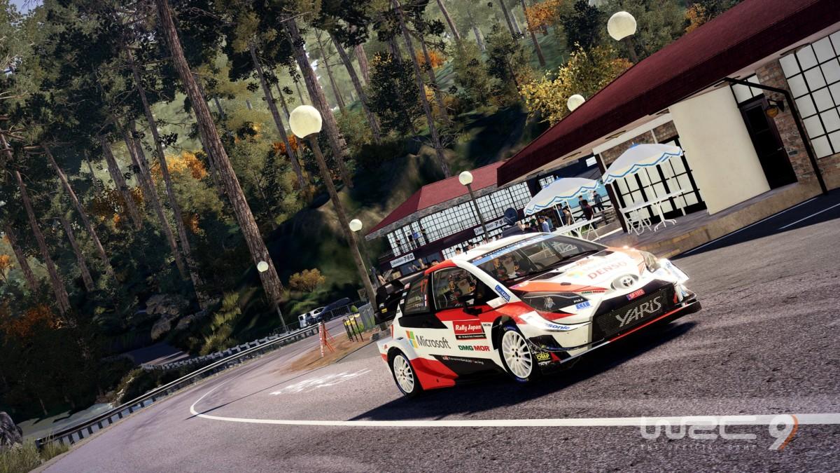 Le jeu WRC9