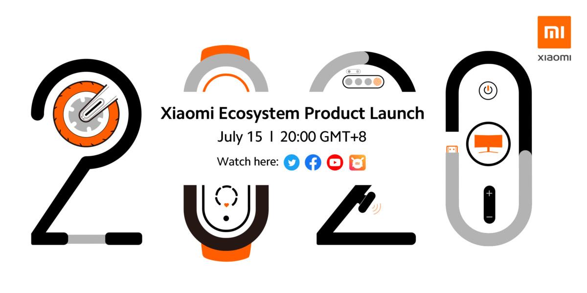 Les annonces de Xiaomi du 15 juillet 2020