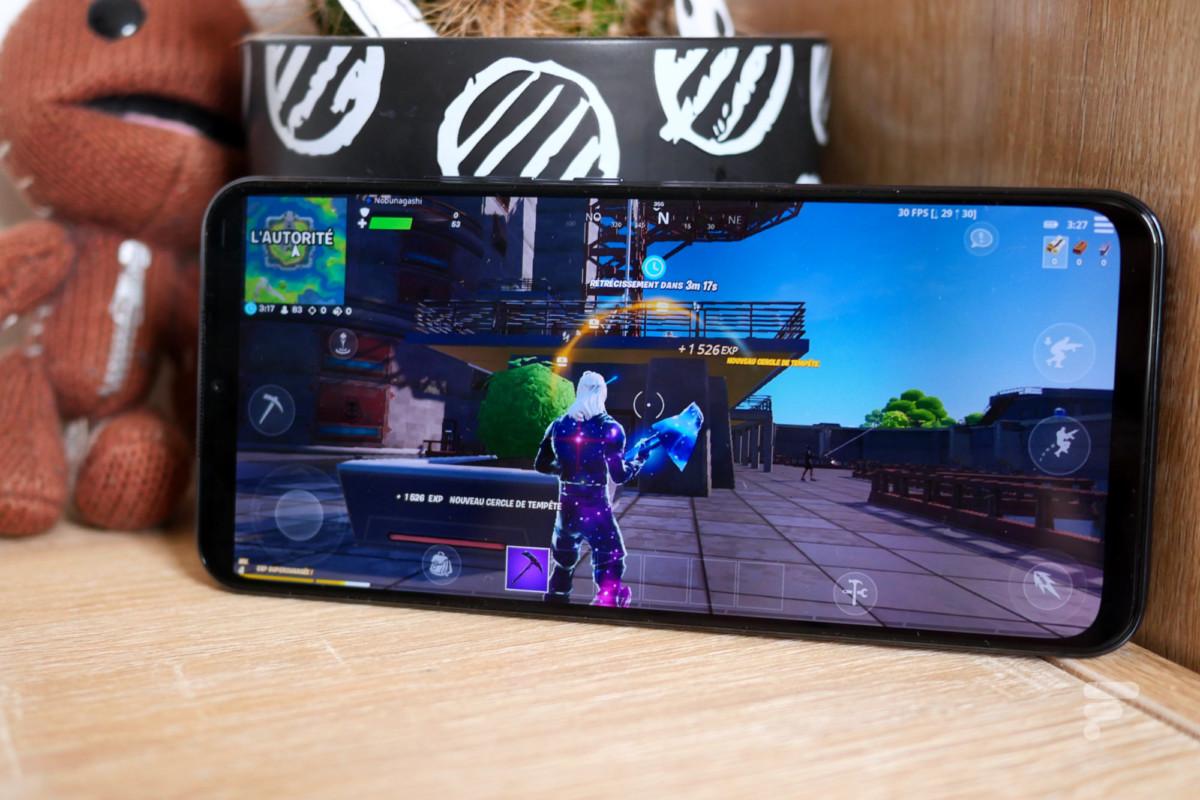 Fortnite sur le Xiaomi Mi 10 Lite 5G