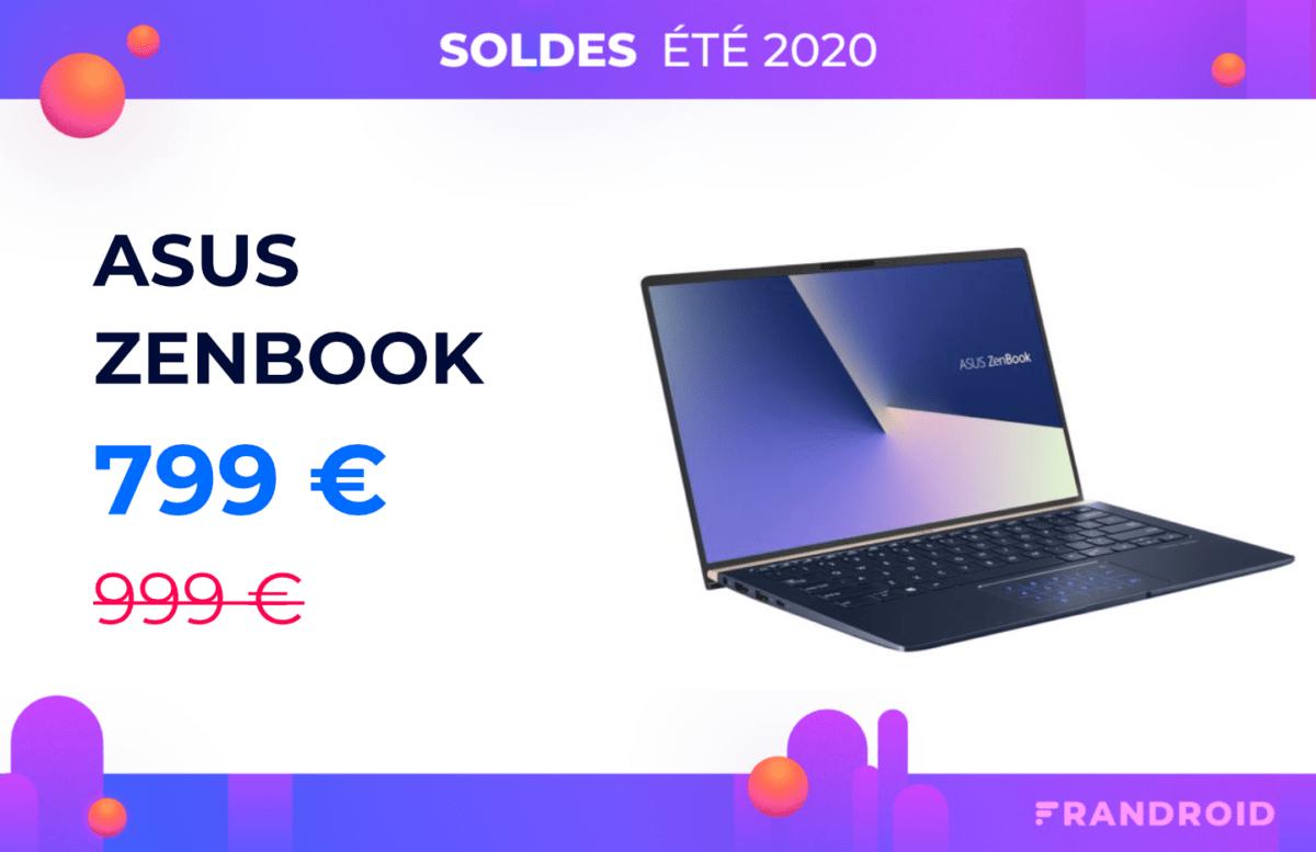 Ce ZenBook d'Asus avec NumPad perd 200 euros à l'occasion des soldes