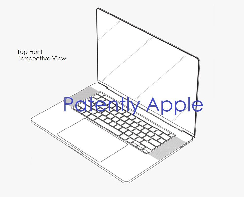 Un brevet de conception obtenu par Apple pour des bords fins sur un MacBook Pro