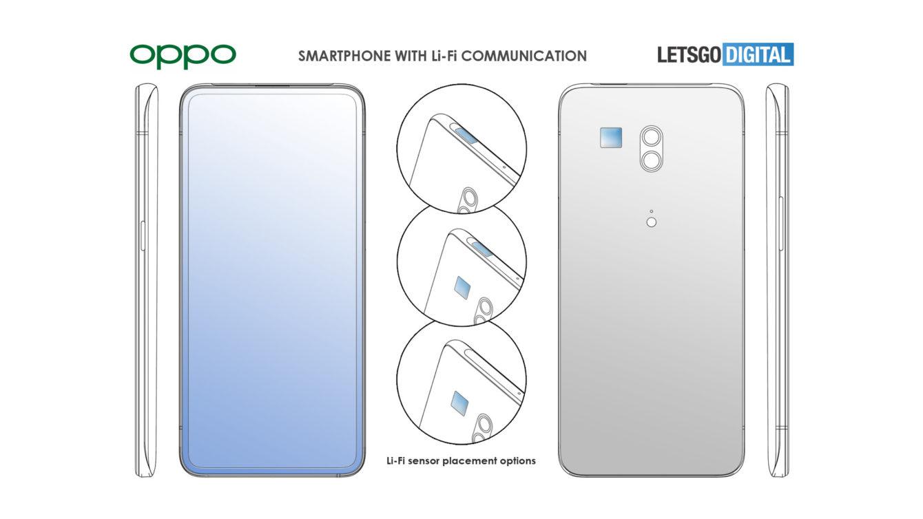Oppo smartphone lifi