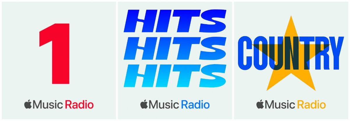Les trois radios signées Apple Music