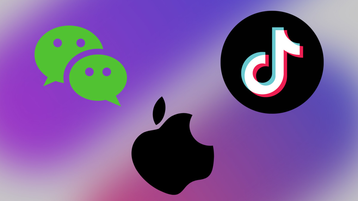 Apple WeChat et TikTok
