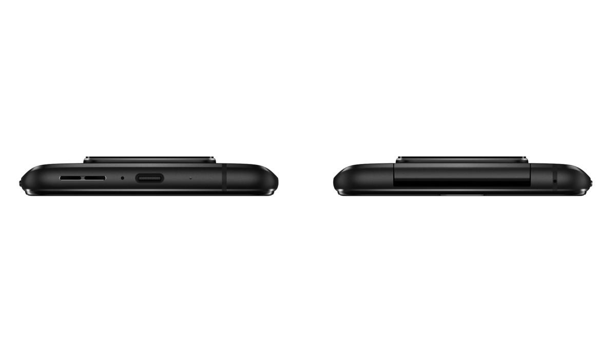 Le Zenfone 7 vue de côté
