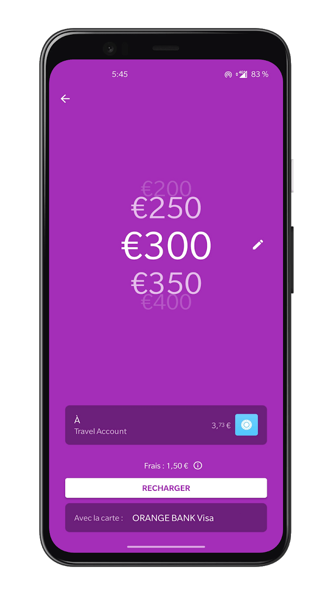 Comptez 0,5% de frais pour des cartes de l'Espace économique européen, 2,5% pour les autres