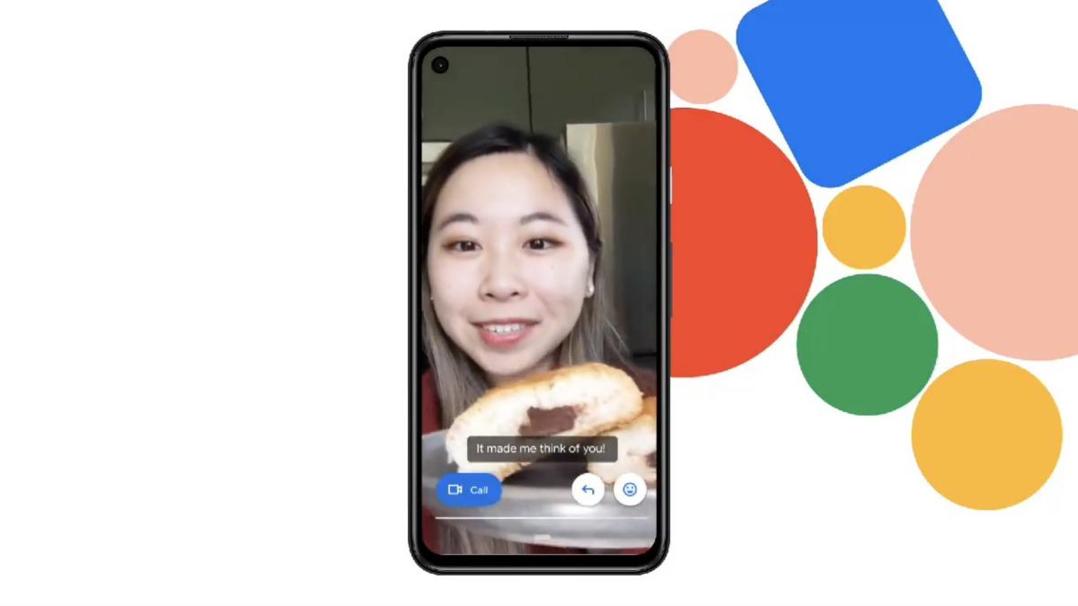Vous allez pouvoir lire les messages audio ou vidéo reçus dans Google Duo