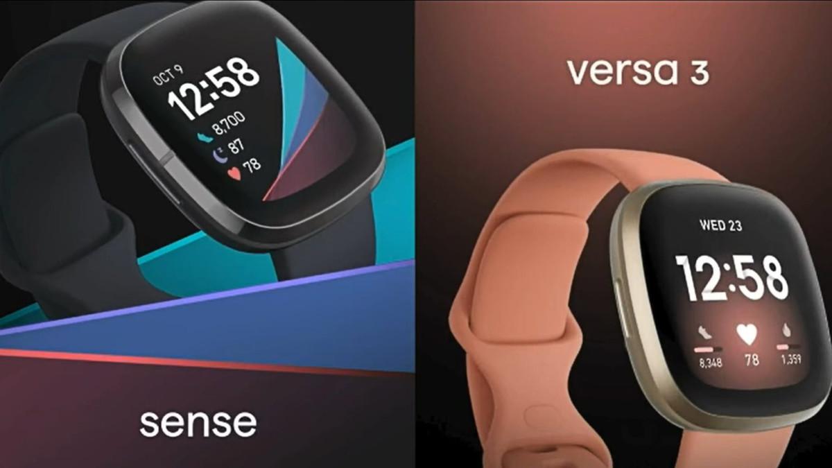 Fitbit Sense et Fitbit Versa 3