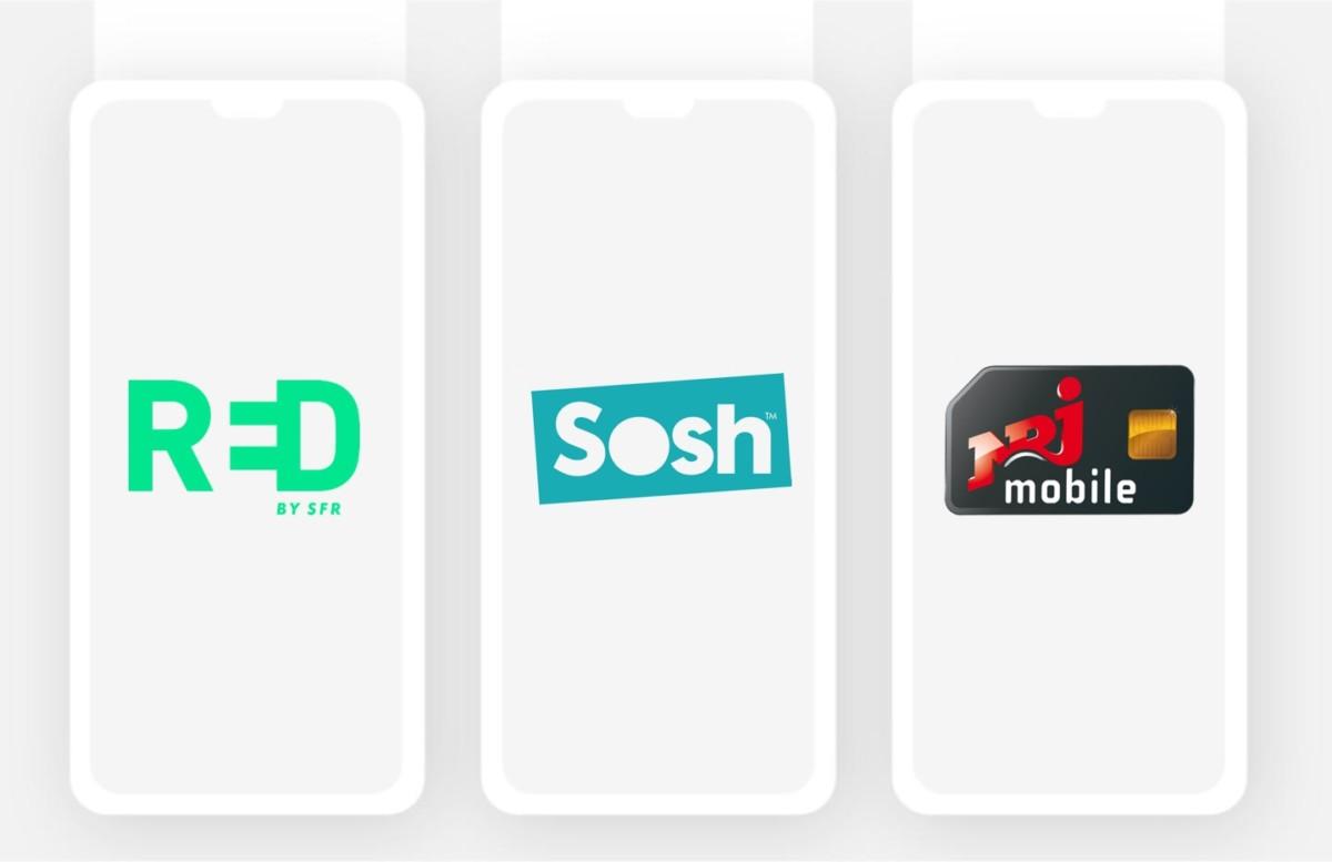 RED by SFR, Sosh, NRJ mobile : quel forfait mobile choisir pour la rentrée?
