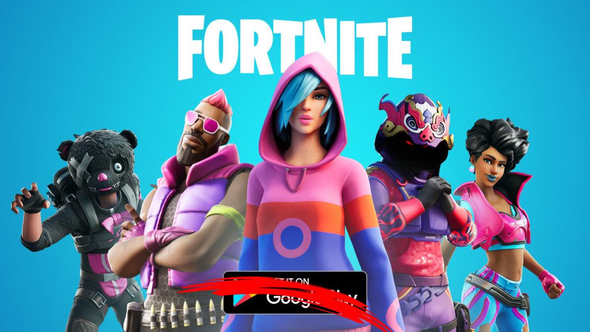 Fortnite n'est plus disponible sur le Play Store
