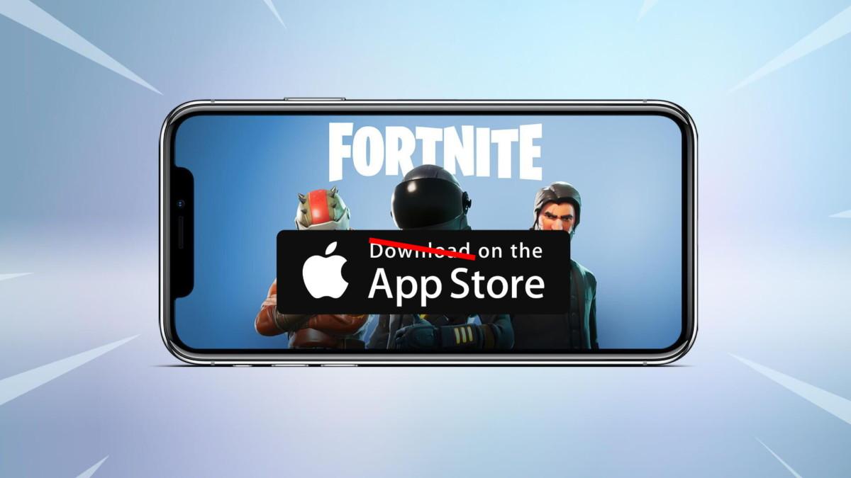 Fortnite n'est plus disponible sur l'App Store