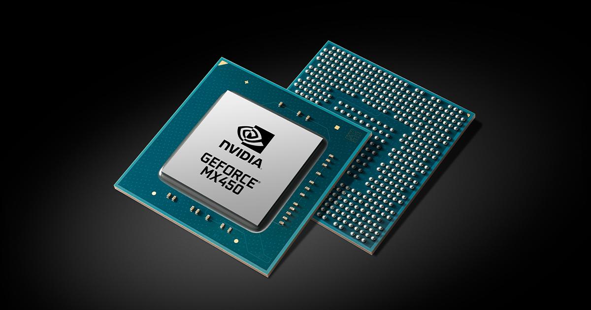 Nvidia annonce sa GeForce MX450, attendue pour octobre
