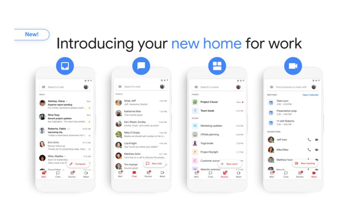 La nouvelle interface de Gmail