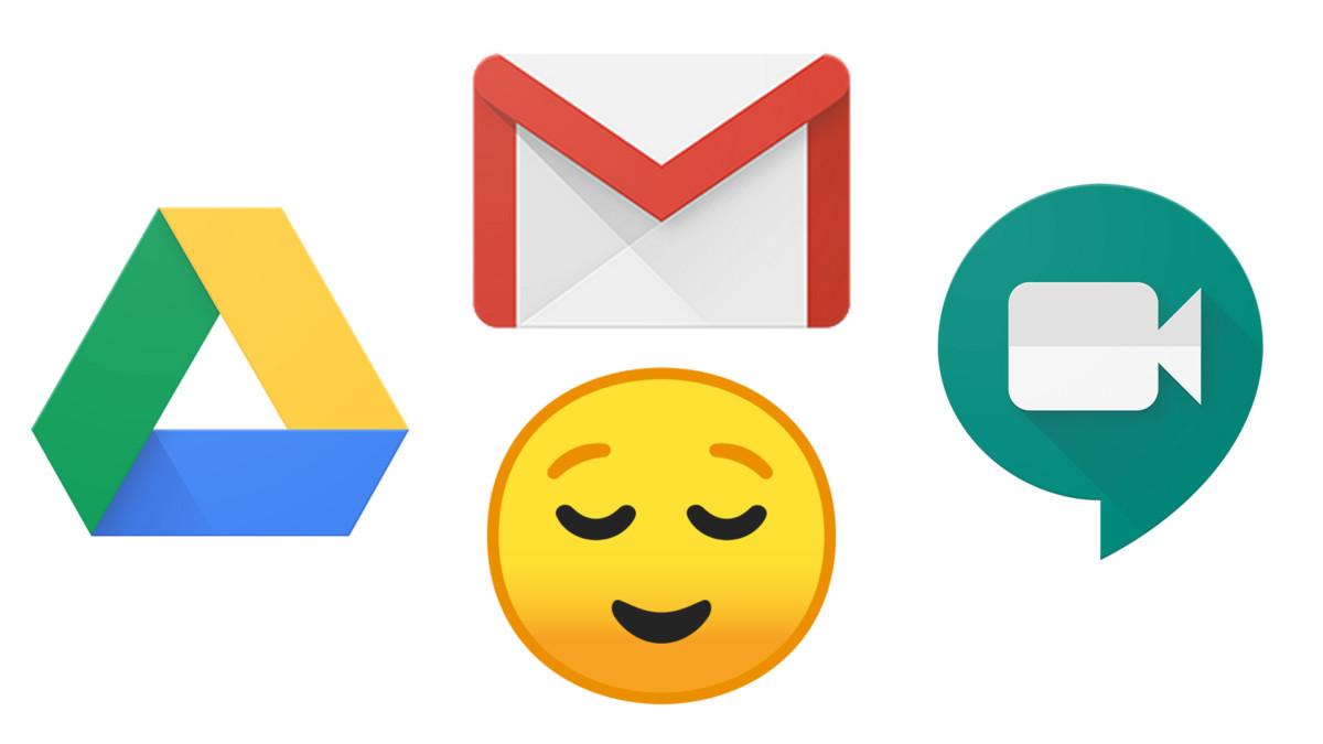 Fin de panne chez Google pour Gmail, Drive et Meet