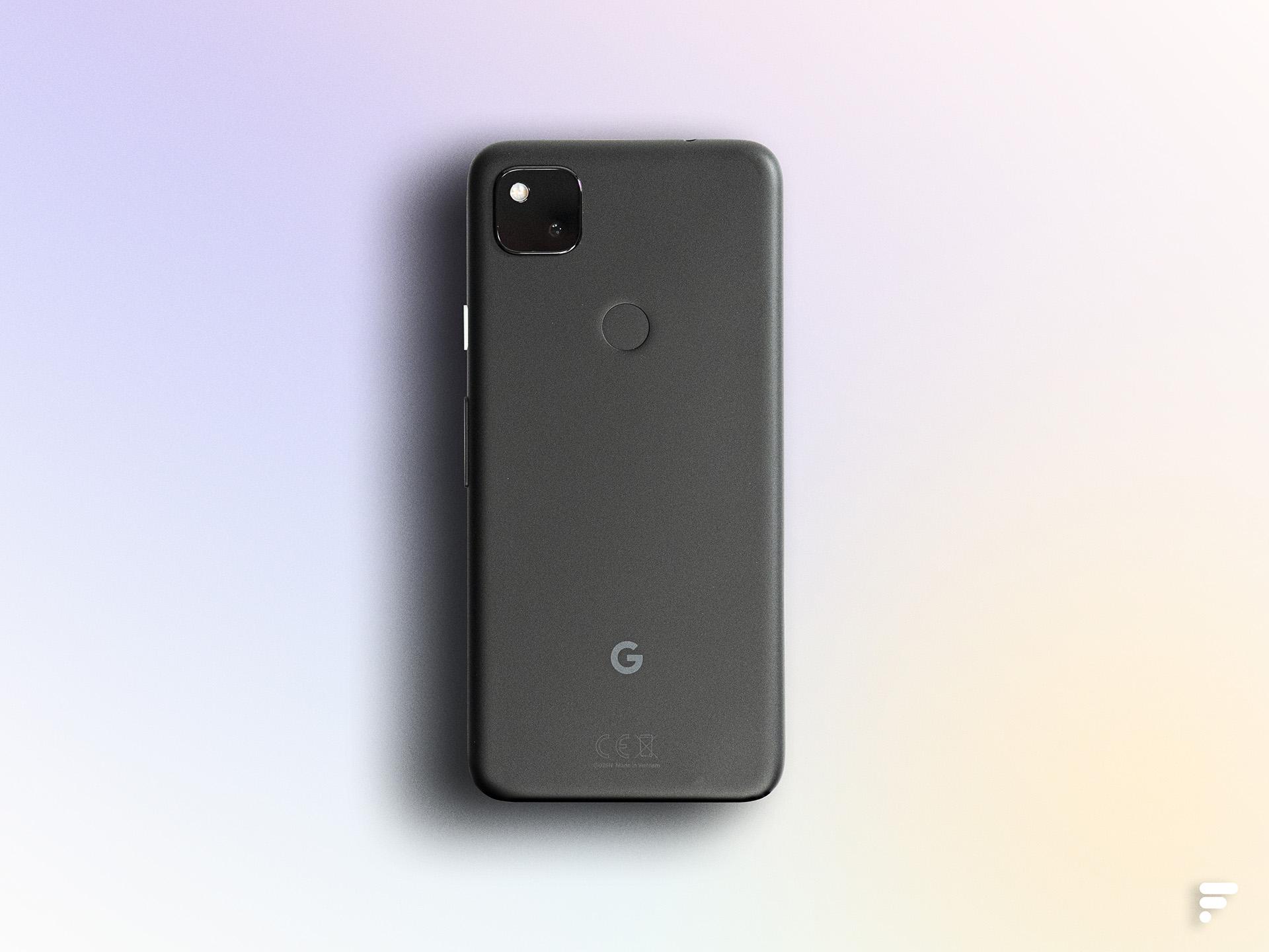 Dos du Google Pixel 4a