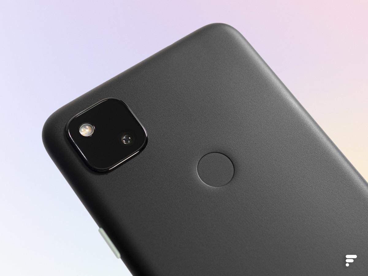Module photo carré du Google Pixel 4a