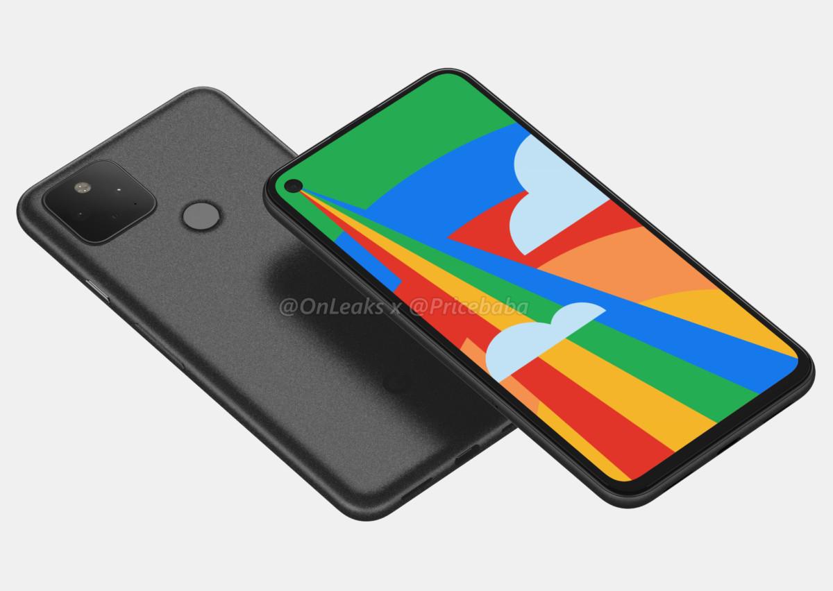 Présentation de Google Pixel 5