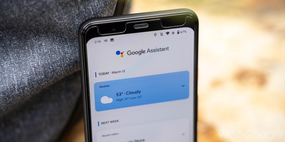 Le flux de Google Assistant profite de nouvelles recommandations et raccourcis