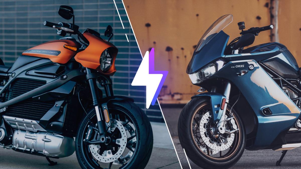 Harley Davidson Livewire et Zero SR/S