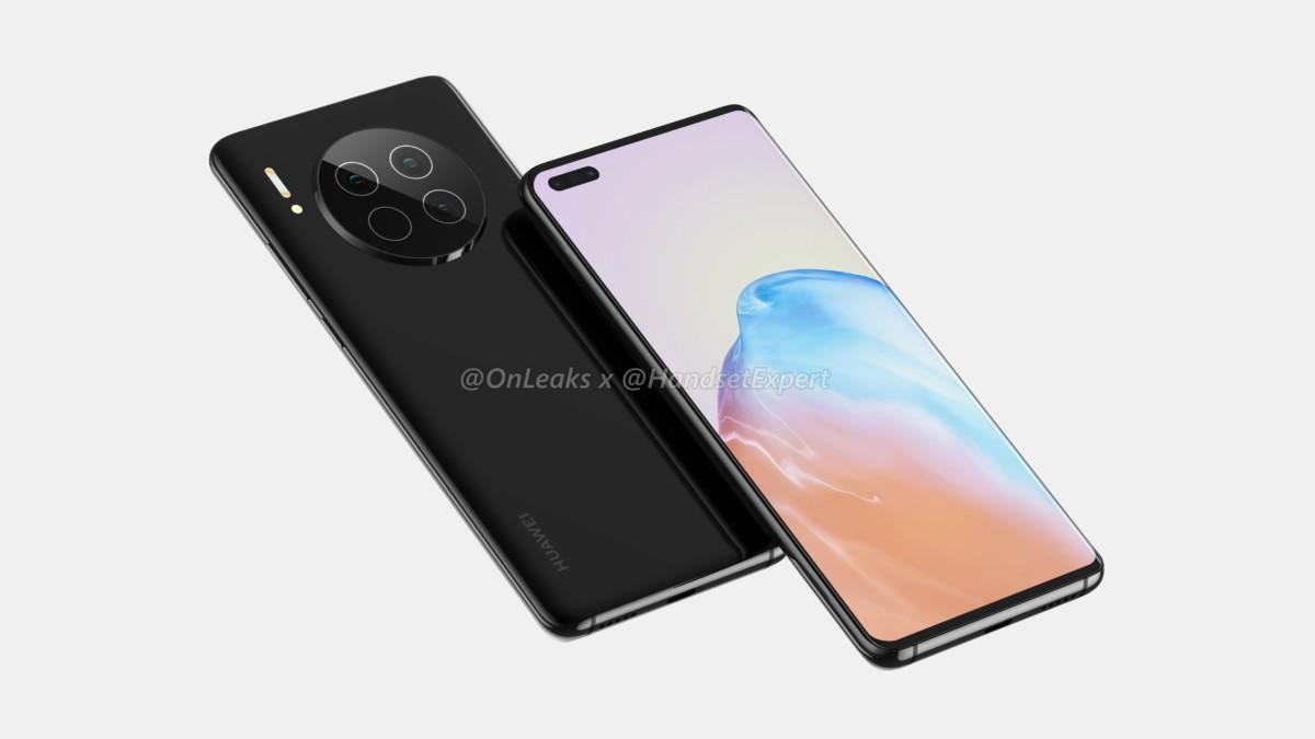 Huawei Mate 40 selon OnLeaks
