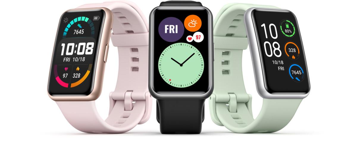 La nouvelle montre Huawei Watch Fit
