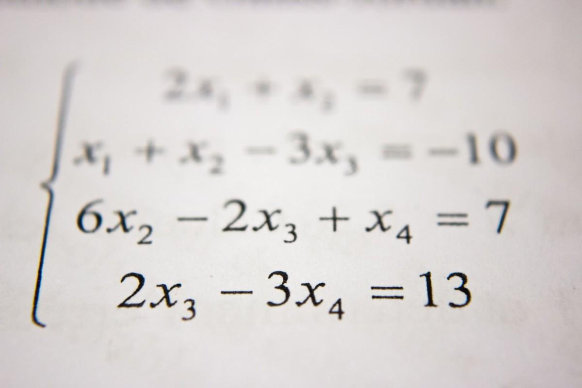 Équation mathématique
