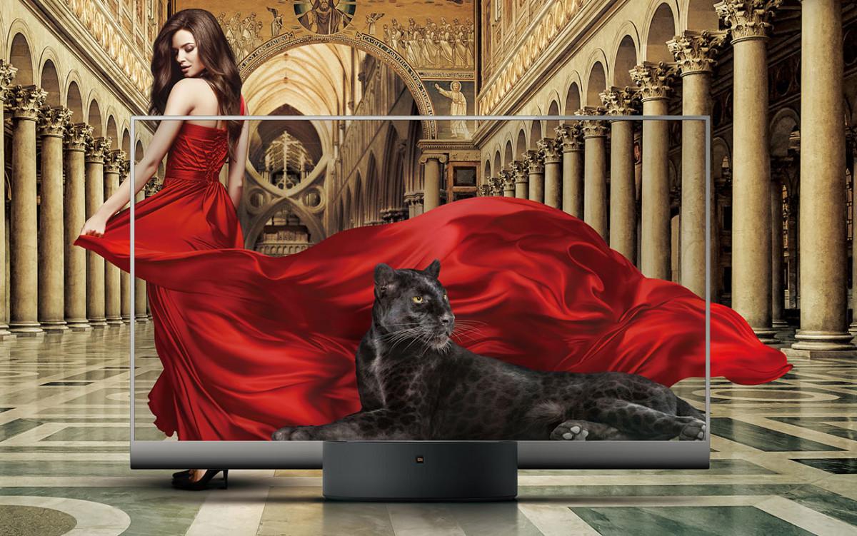 Le téléviseur Xiaomi Mi TV Lux Transparent Edition