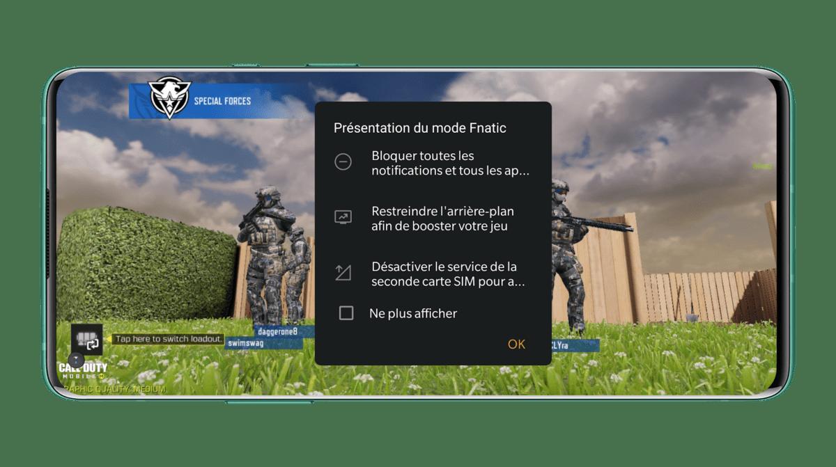 Le mode de jeu «Fnatic» de OnePlus permet une faible latence avec les OnePlus Buds