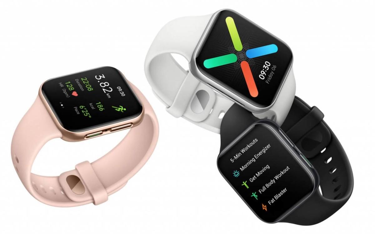 La nouvelle montre Oppo Watch