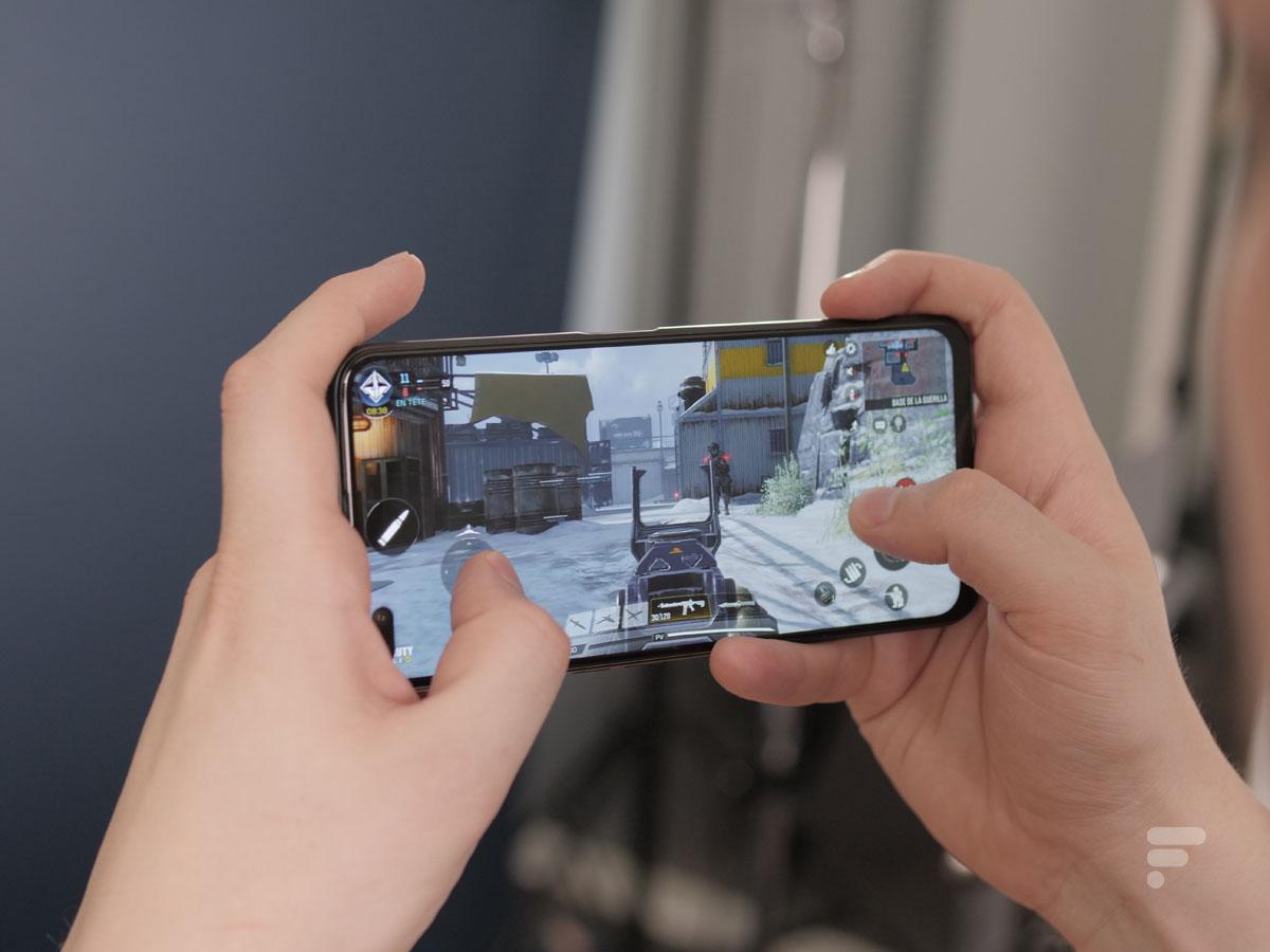 Call of Duty Mobile sur le Realme X50