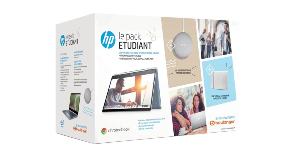 Moins de 550 euros pour ce pack étudiant avec un Chromebook HP