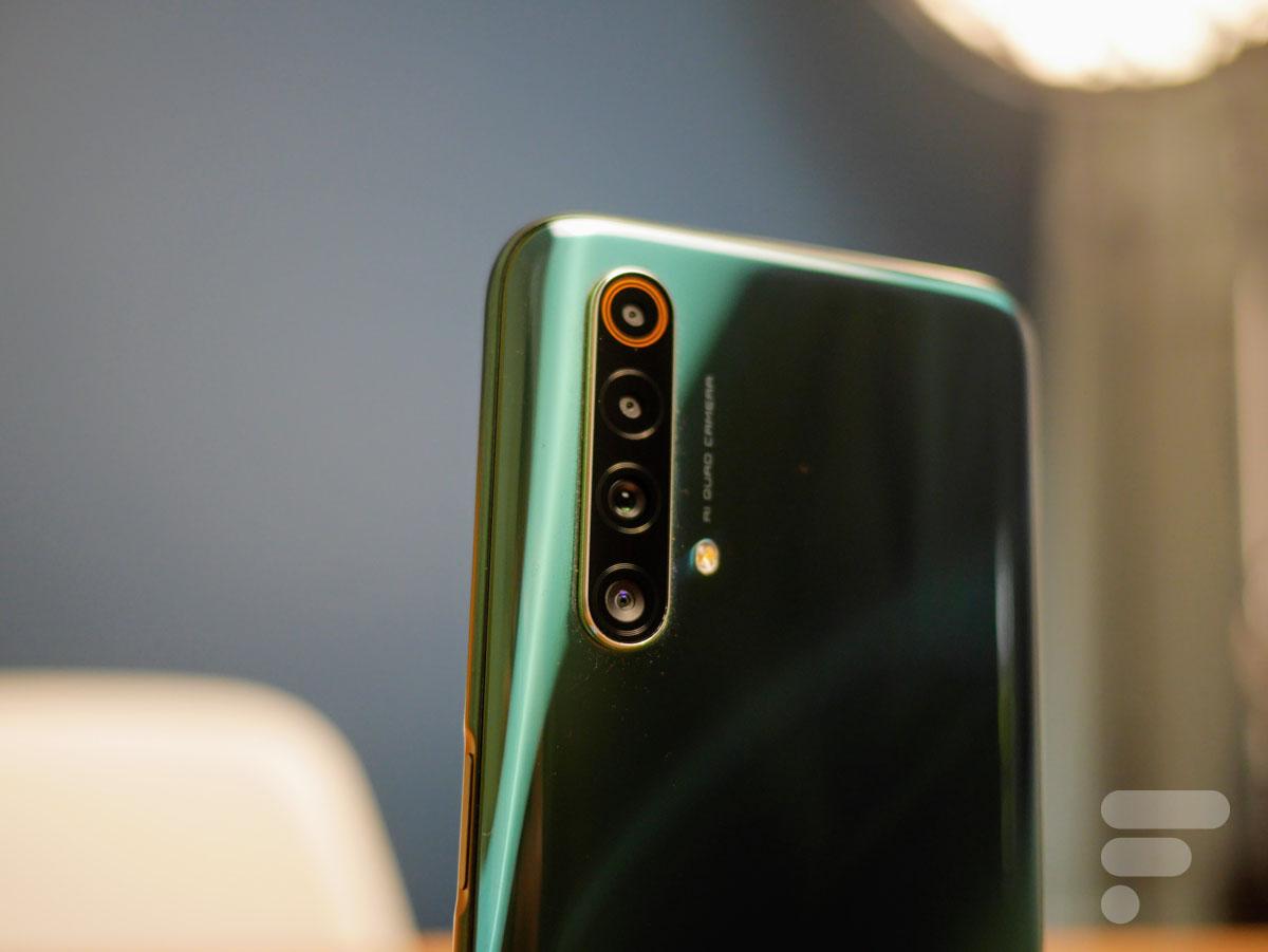 Le module photo du Realme X50