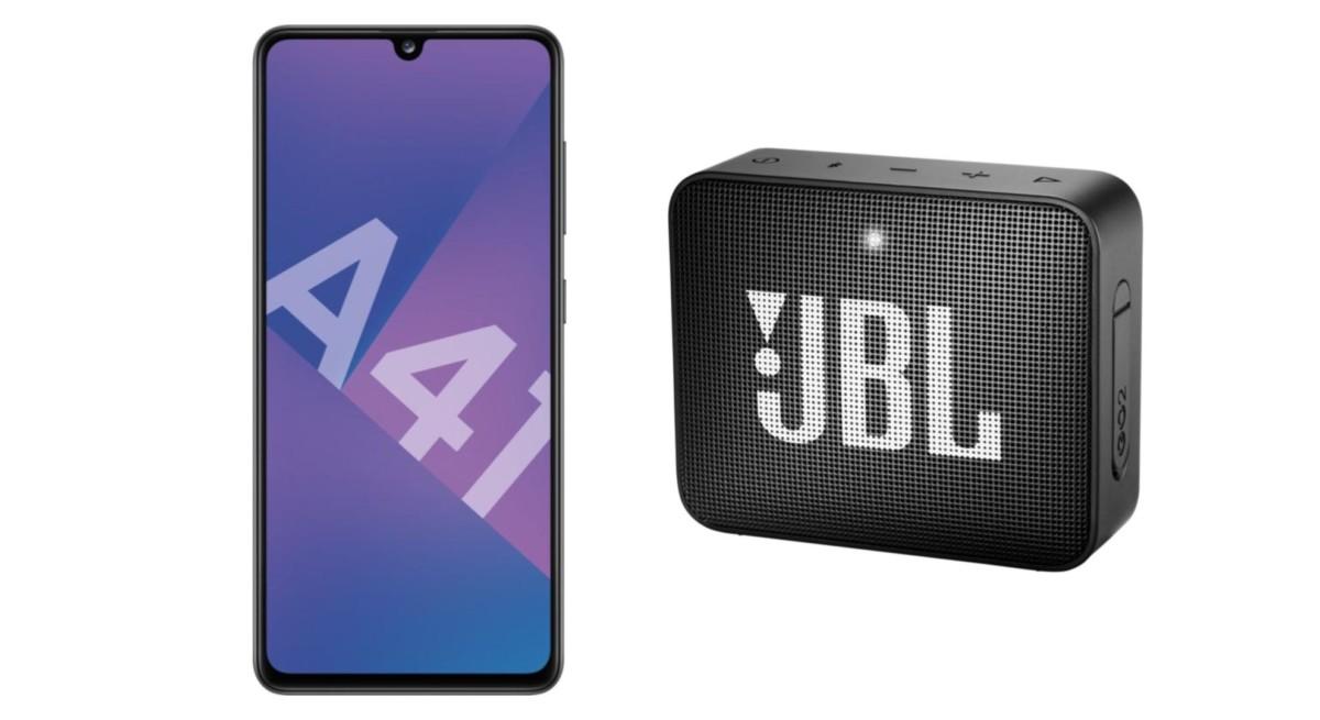 Le pack Samsung Galaxy A41 + JBL Go 2 est en promotion ce mois d'août