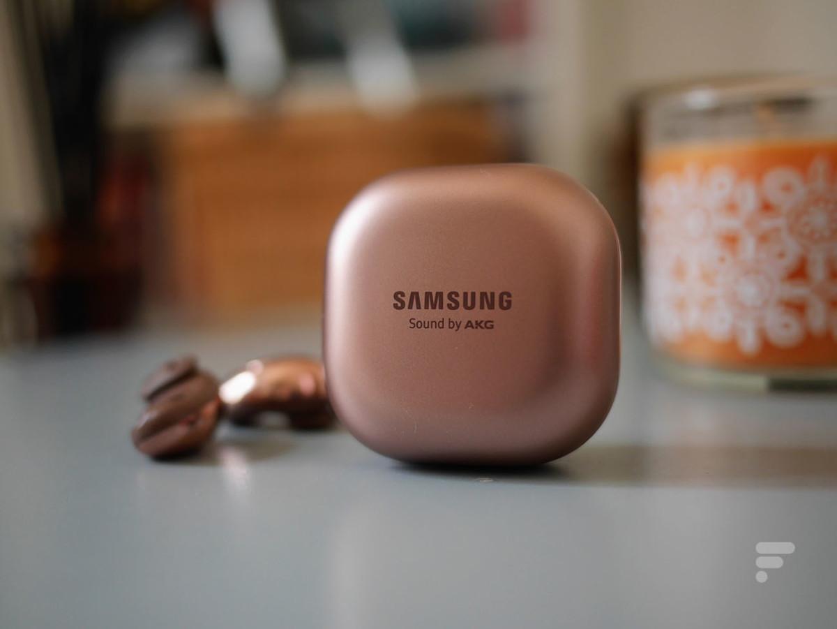Les haut-parleurs des Samsung Galaxy Buds Live sont signés AKG