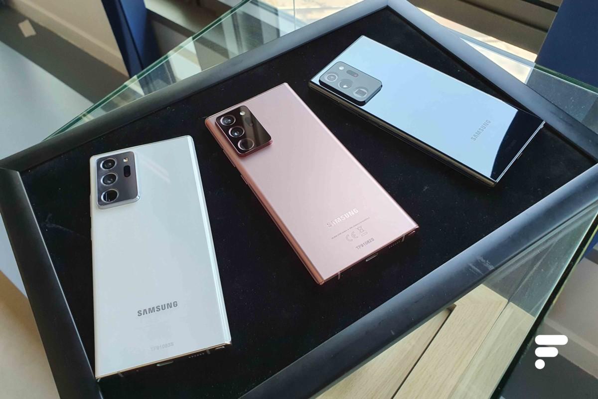 Coloris Samsung Galaxy Note 20 Ultra