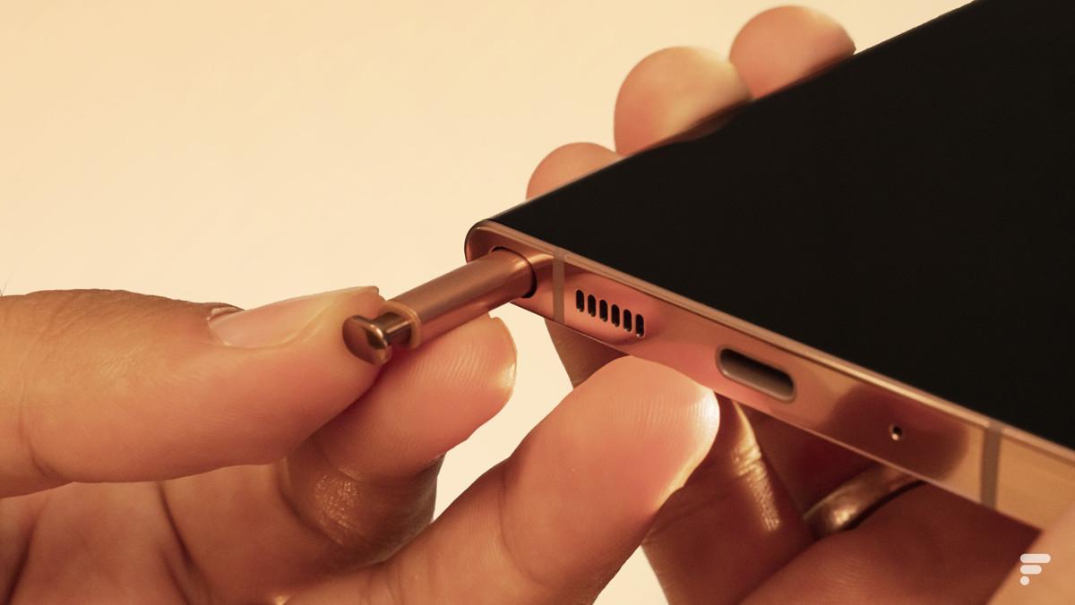 Samsung Galaxy Note 20 Ultra S Stifthülle