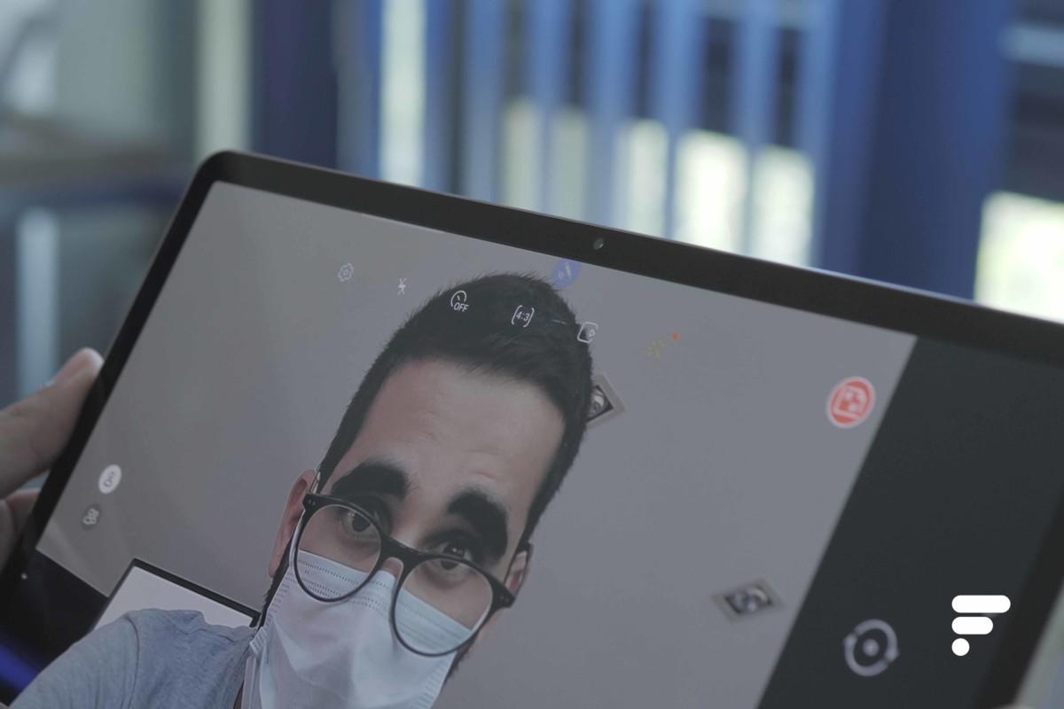 Capteur photo frontal Samsung Galaxy Tab S7 Plus