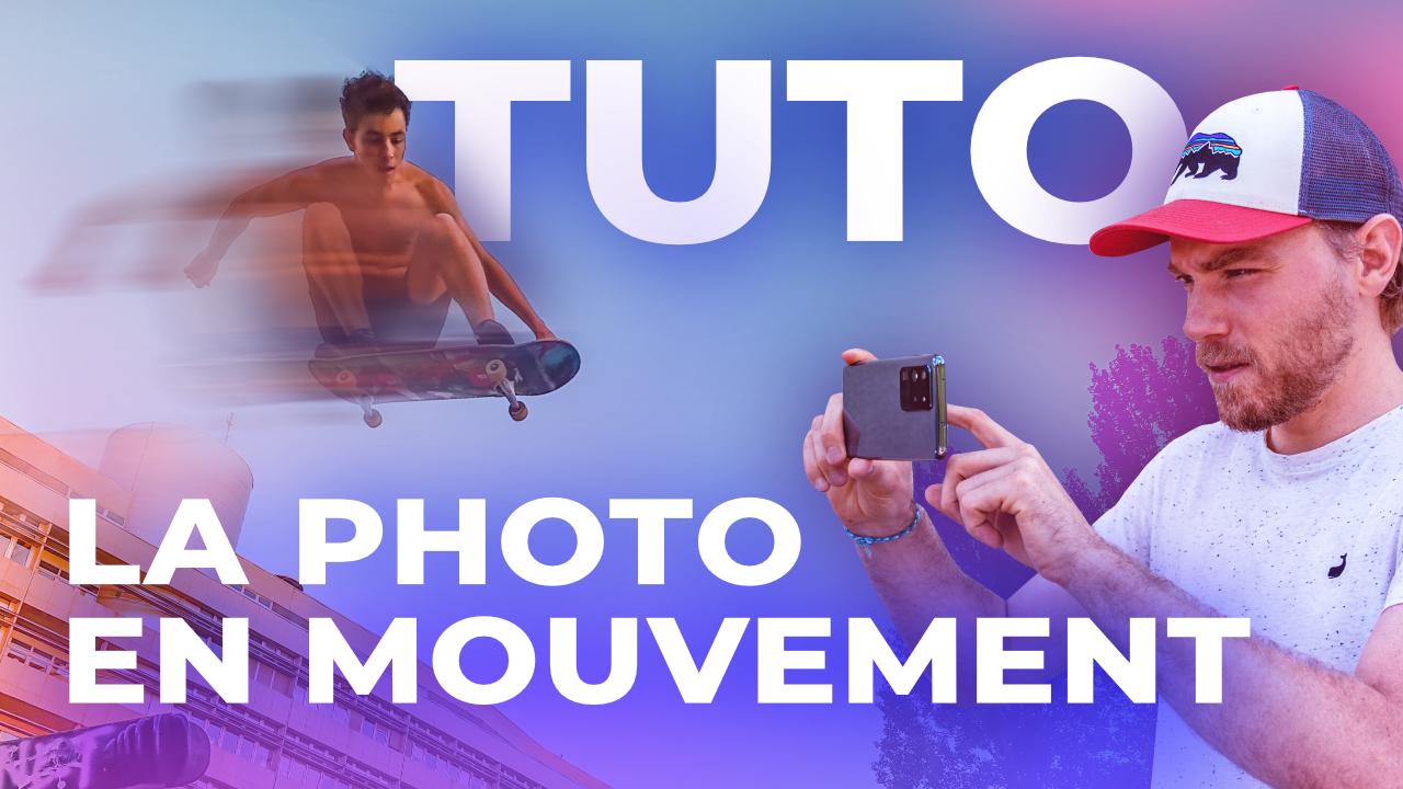 3 techniques photo sur smartphone pour figer les actions et gérer le flou de mouvement