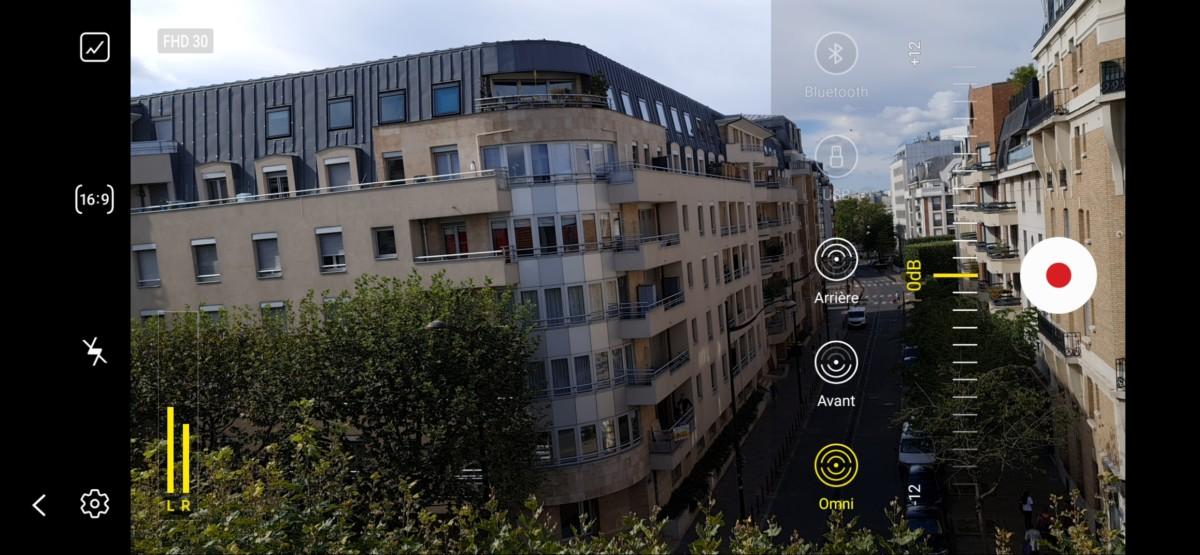 Mode vidéo Pro du Samsung Galaxy Note 20 Ultra
