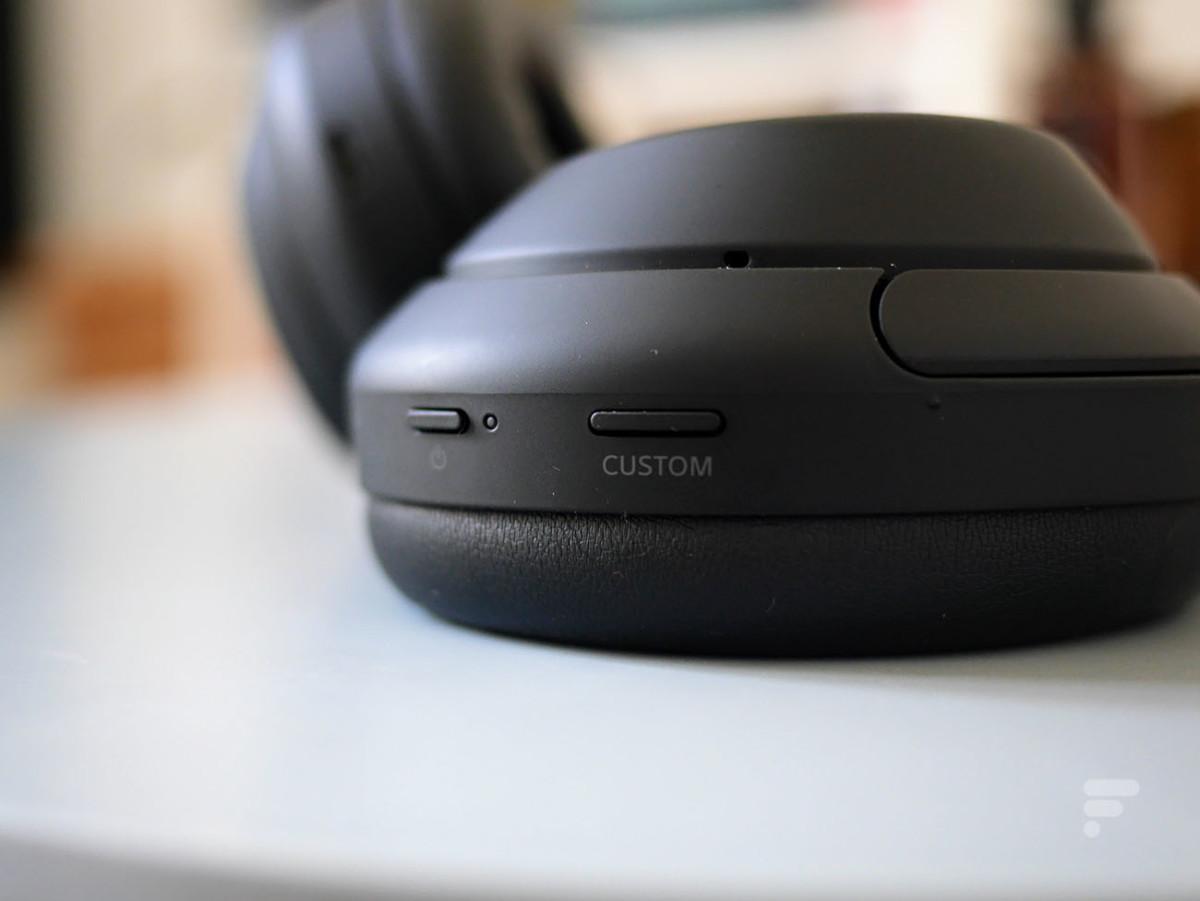 Les boutons du Sony WH-1000XM4