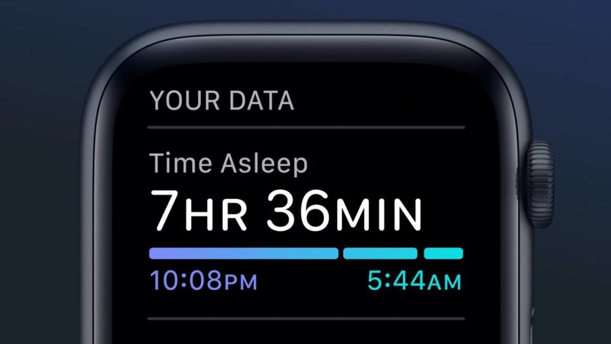 Apple ajoute enfin le suivi du sommeil à sa montre connectée