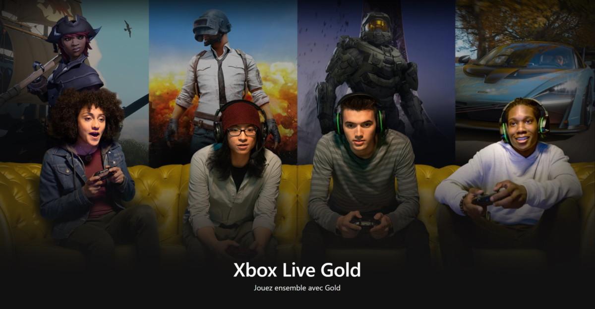 Le Xbox Live Gold intègre le jeu en ligne