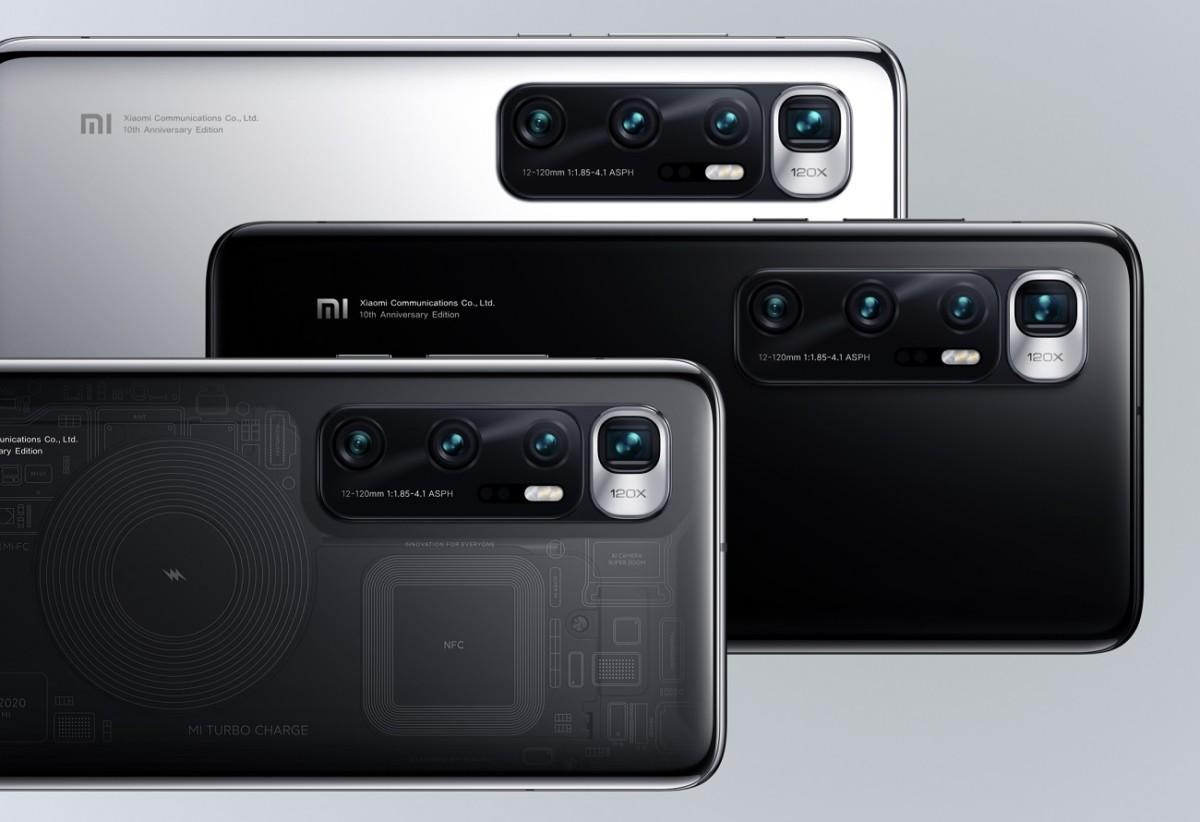 Le Xiaomi Mi 10 Ultra