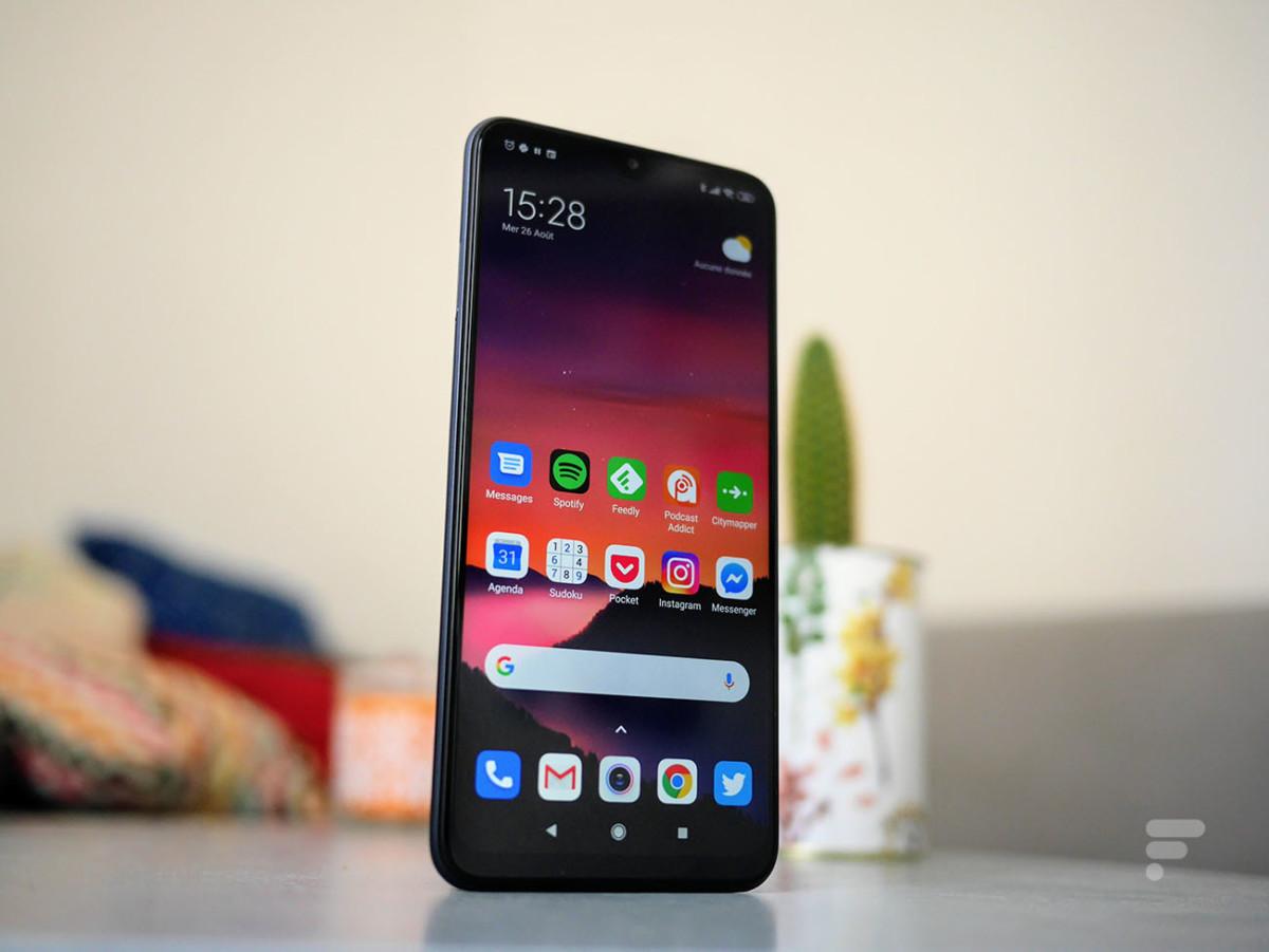Le Xiaomi Redmi 9 profite d'une autonomie confortable