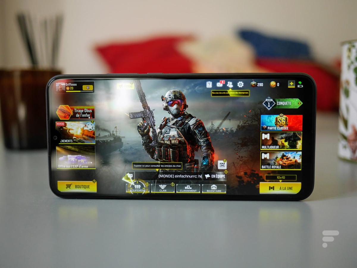Le Xiaomi Redmi 9 permet de lancer Call of Duty Mobile